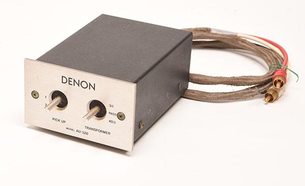 オーディオデノンAU-320を高価買取